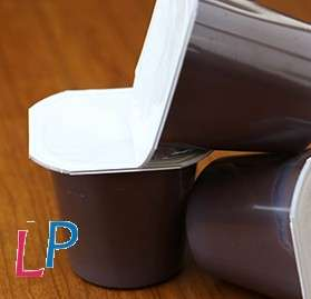 Chocoladepudding low lactose 4 potjes