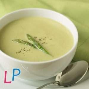 Creamy soep O'asperge