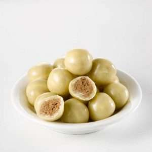 High pro bolletjes witte chocolade