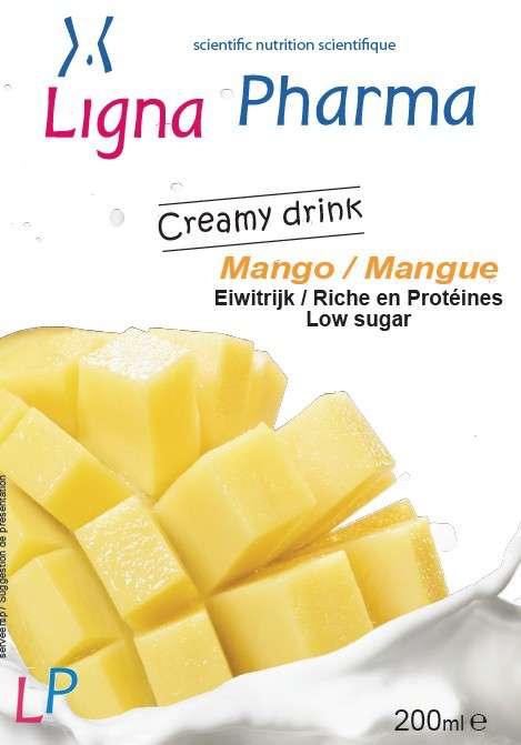 Flesje Mango Creamy drank 200 ml
