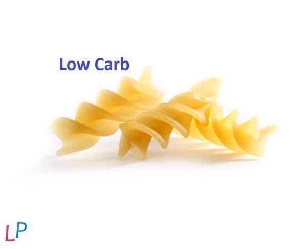 REDUCED CARB - LOW FAT Italiaanse pasta FUSILLI 2 x 70 g