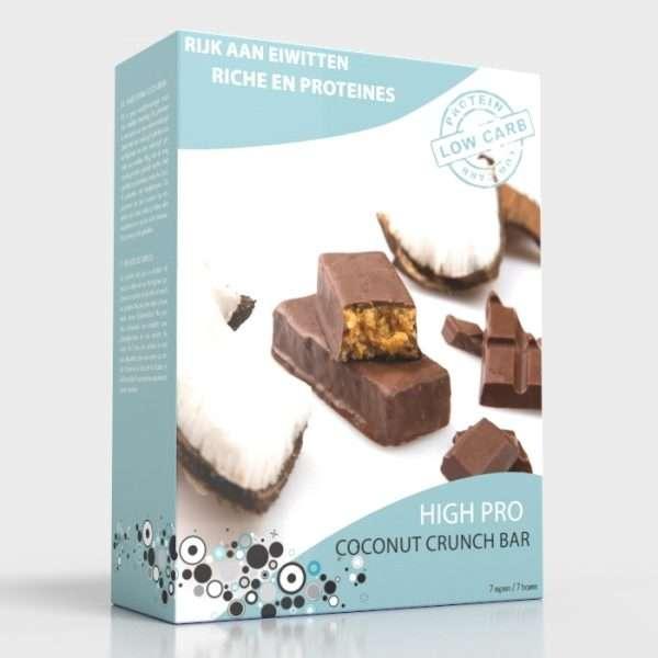Reep Coco Crunch - 7 stuks per doos
