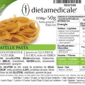 Eiwitrijke low carb TAGLIATELLA 50 g