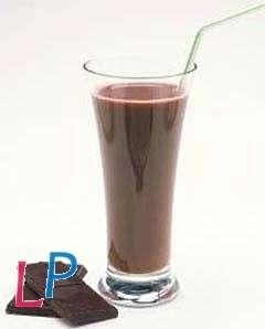 Dessert zwarte chocolade (mousse/pudding/milkshake) 7 zakjes